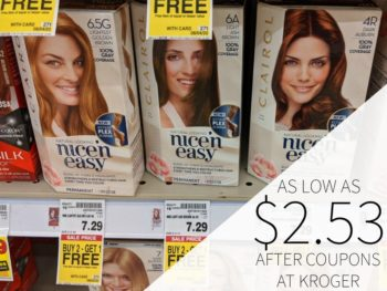Clairol Hair Color As Low As $2.53
