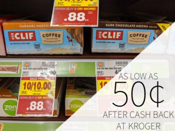 Clif Coffee Bars As Low As 50¢ At Kroger