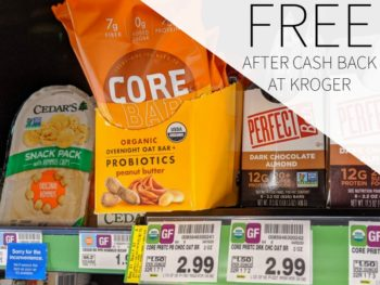 CORE Foods Overnight Oat Bars FREE At Kroger 2