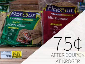 Flatout Wraps Just $1.99 At Kroger