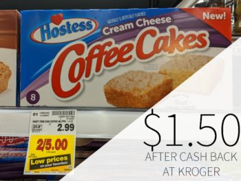 Hostess Coffee Cakes Just $1.50 At Kroger