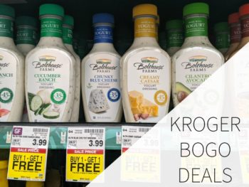 Kroger BOGO Deals Week Of 7/31
