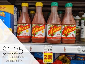 La Victoria Taco Sauce Just $1.25 At Kroger