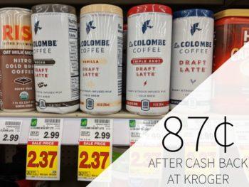 La Colombe Draft Latte Just 87¢ At Kroger