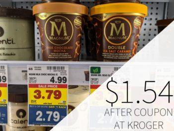 Magnum Ice Cream Just $1.54 At Kroger