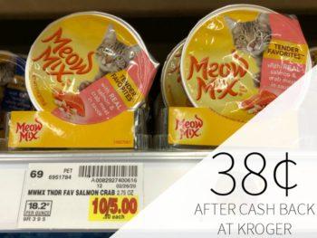 Save On Cat Food At Kroger