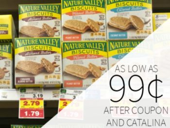 Nature Valley Bars As Low As $0.99 Per Box At Kroger