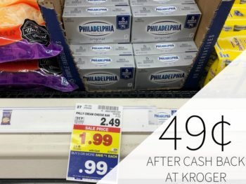 Philadelphia Cream Cheese Just 99¢ At Kroger 3
