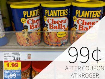 Planters Cheez Balls Just 99¢ At Kroger