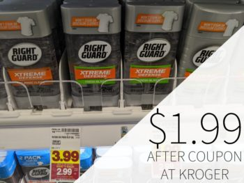 Right Guard Deodorant Just $1.99 Each At Kroger