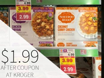 Saffron Road Meals Just $1.99 At Kroger