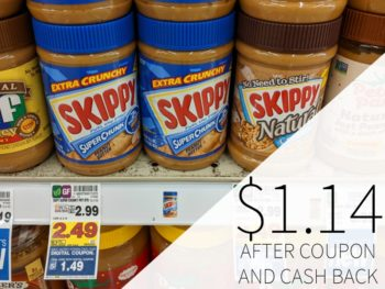 Skippy Peanut Butter Just $1.14 At Kroger