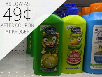 Suave Kids Hair Care As Low As 49¢ At Kroger