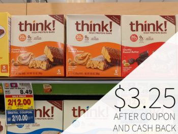 Think! High Protein Bars Multipacks Just $3.25 At Kroger