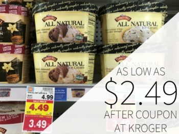 Turkey Hill All Natural Ice Cream Just $2.49 At Kroger
