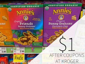 Annie's Snacks Just $1 Per Box At Kroger