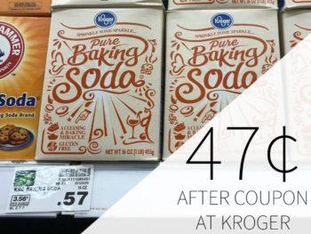 Kroger Baking Soda Just 47¢ At Kroger