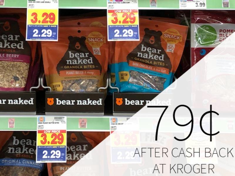 Bear Naked Granola Just .99 Per Bag At Kroger