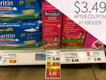 Children's Benadryl Just $3.49 At Kroger
