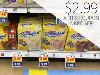 Carnation Breakfast Essentials As Low As $2.99 At Kroger