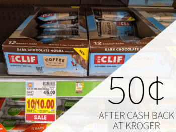 Clif Coffee Bars As Low As 50¢ At Kroger 1