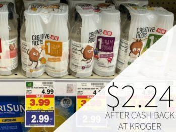 Creative Roots Drinks Just $2.24 At Kroger