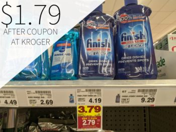Finish Jet Dry Rise Aid Just $1.79 At Kroger