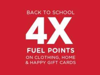 4x Kroger Fuel Points When You Buy Gift Cards