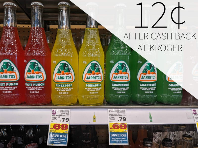 Jarritos Soda As Low As 12¢ Per Bottle At Kroger