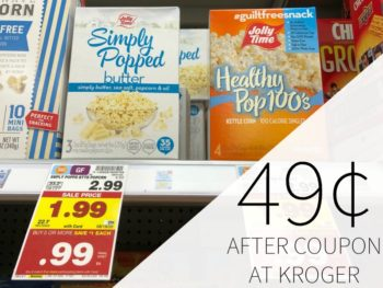 Jolly Time Popcorn Just 49¢ At Kroger 1