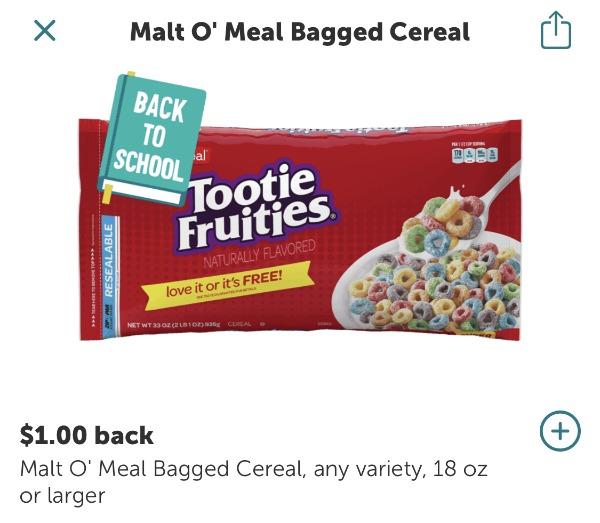 Malt O Meal Cereal Just 99¢ At Kroger 1