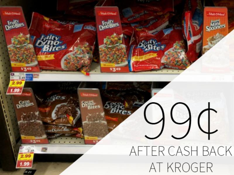 Malt O Meal Cereal Just 99¢ At Kroger