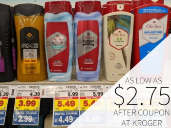 Old Spice Body Wash As Low As $2.75 Per Bottle At Kroger