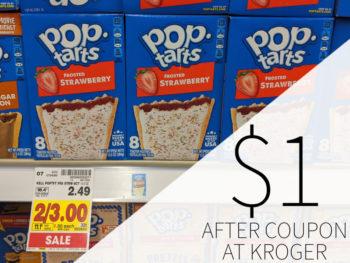 Pop Tarts Just $1 Per Box At Kroger