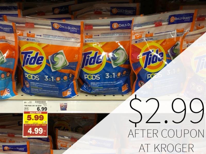Tide Pods Only $2.99 During The Kroger Mega Sale 1