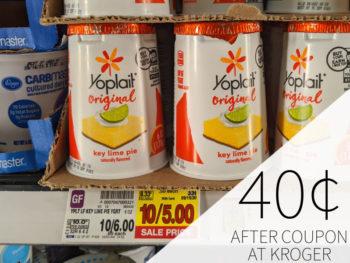 Yoplait Yogurt Just 40¢ Each At Kroger 1