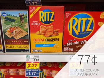 Nabisco Ritz Crackers Just $1.77 At Kroger 1