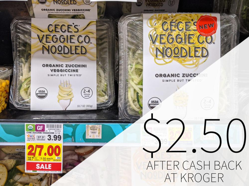 Cece's Veggie Co. Veggie Spirals Just .50 At Kroger
