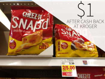 Cheez It Snap'd Just $1 At Kroger