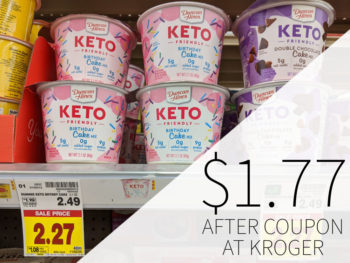 Duncan Hines Keto-Friendly Cup Just $1.77 At Kroger