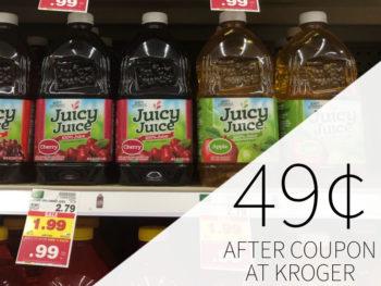 Juicy Juice Just 49¢ Per Bottle At Kroger