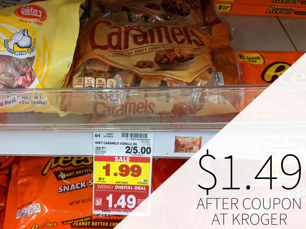 Kraft Caramels Just $1.49 At Kroger