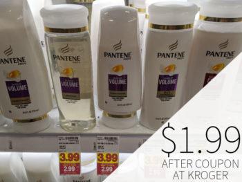 Pantene Shampoo or Conditioner Just $1.99 Per Bottle At Kroger 1