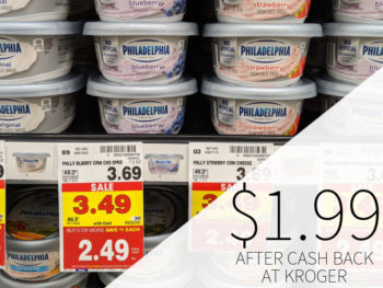 Philadelphia Cream Cheese Spread Just $1.99 At Kroger