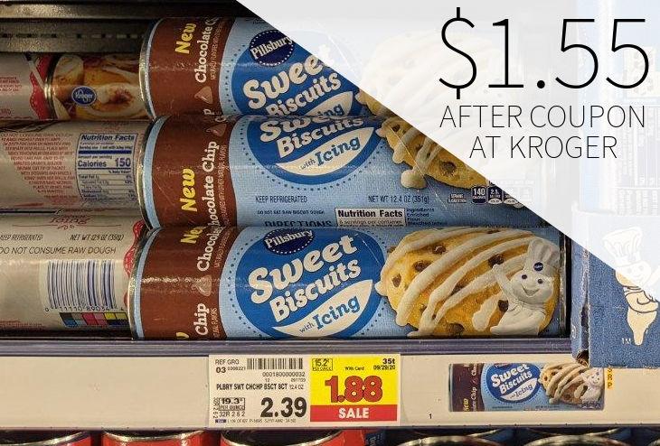 Pillsbury Cinnamon or Crescent Rolls Just $1.55 Per Tube At Kroger
