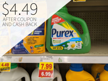 Purex Liquid Laundry Detergent As Low As $4.49 At Kroger