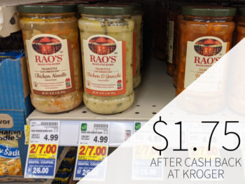 Rao's Soup As Low As $1.75 At Kroger