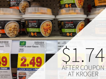 Campbell's Slow Kettle Soup Just $1.74