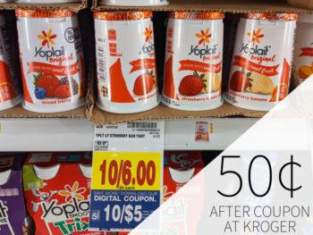 Yoplait Yogurt Just 50¢ Per Cup At Kroger 2