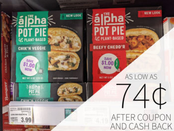 Alpha Pot Pie As Low As 74¢ At Kroger